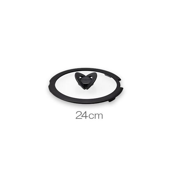 T-FAL ティファール インジニオネオ バタフライガラスブタ 24cm L99365 ガラス蓋|toolandmeal