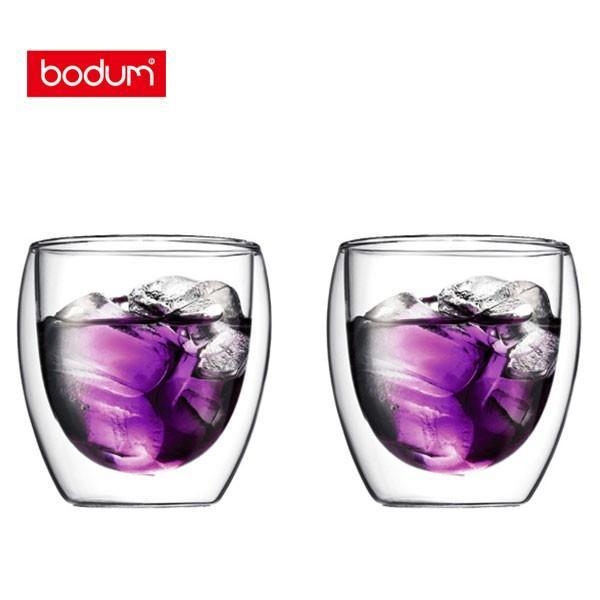 bodum ボダム PAVINA パヴィーナ ダブルウォールグラス 0.25L (2個セット) 4558-10 toolandmeal