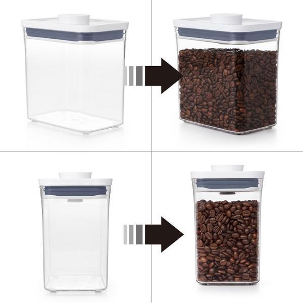 保存容器 ポップコンテナ2 大容量オススメ当店限定セット おまけ:ポップスクープ付 POP2 オクソー OXO|toolandmeal|02