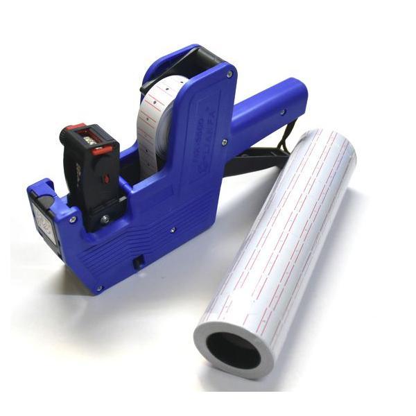 ラベラー ハンドラベラーセット 青色 業務用にも 本体1台 ラベラーシール10個 予備インク