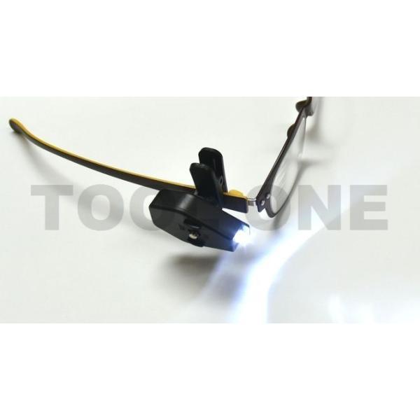 ■送料無料■ メガネ型ルーペ メガネ シニアグラス に使える LEDライト 見え方も 変わります。 使い方いろいろ