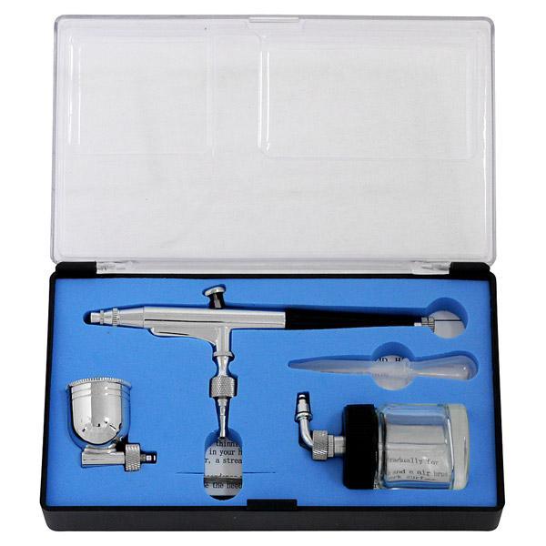 横カップエアブラシセット 0.3mm TR-273ABK 34521