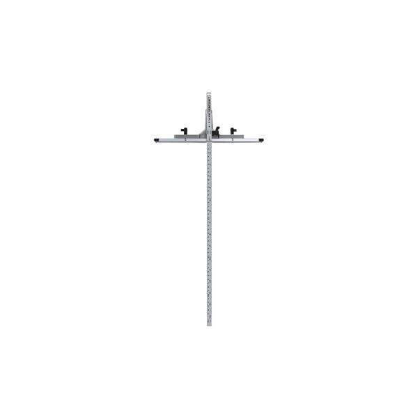 シンワ測定丸ノコガイド定規Tスライドスリムシフト45cm併用目盛73314