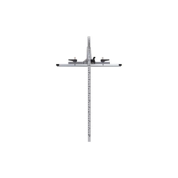 シンワ測定丸ノコガイド定規Tスライドスリムシフト230cm併用目盛73542
