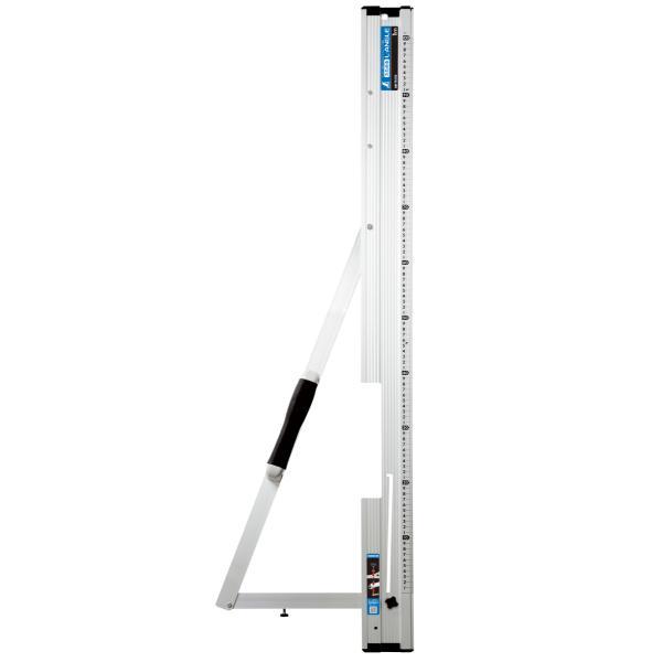 シンワ測定丸ノコガイド定規たためるエルアングル1mメートル目盛78102