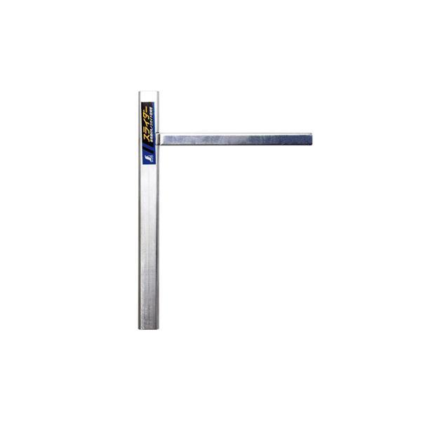 シンワ測定スライダー専用溝付丸ノコガイド定規用78236