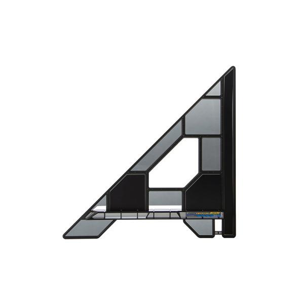 シンワ測定丸ノコガイド定規トライアングルポリカ30cm78280