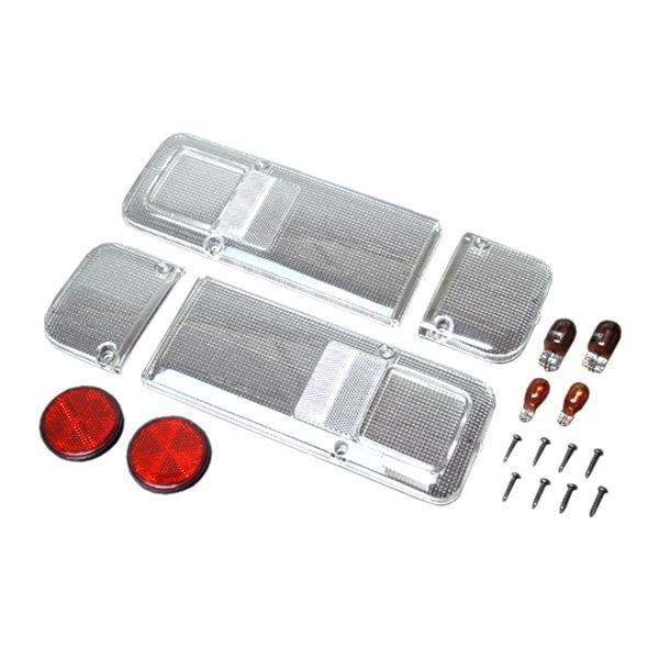ホンダ アクティトラック 2009.12〜 オールクリア仕様 テールレンズ左右セット|toolshop-dream