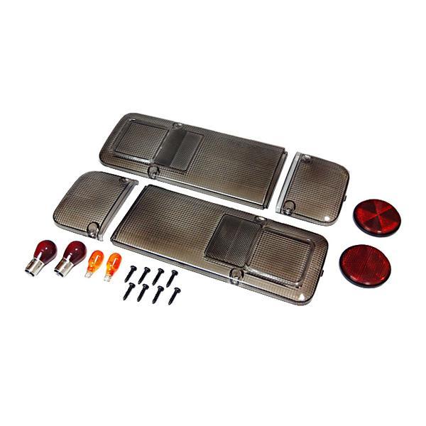ホンダ アクティトラック 1988.5〜 スモーク仕様テールレンズ左右セットc-cup絶版|toolshop-dream