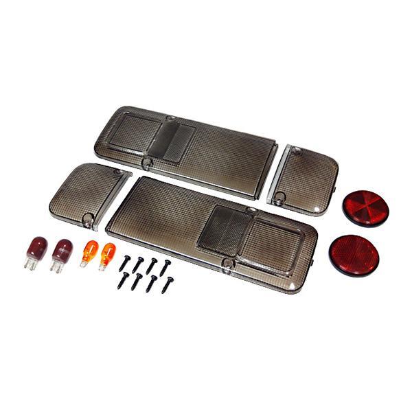 ホンダ アクティトラック 2009.12〜 スモーク仕様テールレンズ左右セットc-cup絶版|toolshop-dream