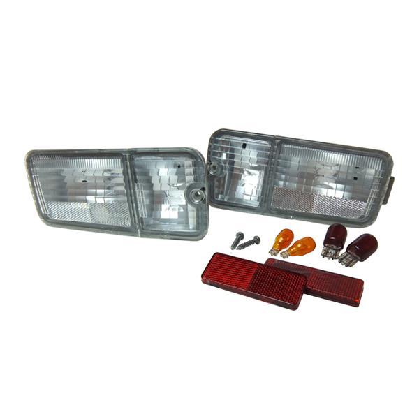 ダイハツ ハイゼットトラック 500系 オールクリアー仕様 テールランプユニット セット|toolshop-dream