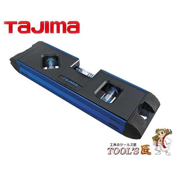 タジマ 水平器 マグネット付 オプティマレベル 170mm 青 OPT−170B