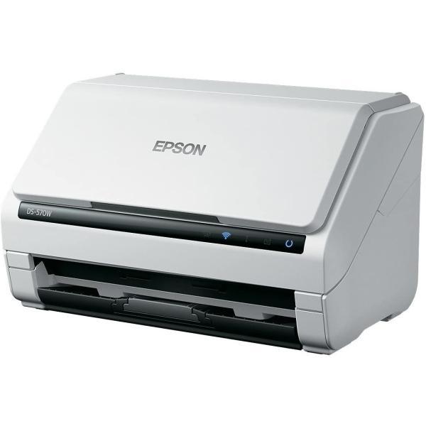 エプソン スキャナー DS-570W (シートフィード/A4両面/Wi-Fi)