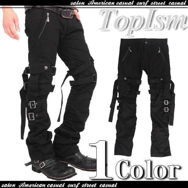 カーゴパンツ メンズ スリムカーゴ ワークパンツ スキニー パンツ ボトムス カーゴ メンズファッション 通販|topism