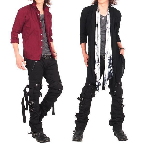 カーゴパンツ メンズ スリムカーゴ ワークパンツ スキニー パンツ ボトムス カーゴ メンズファッション 通販|topism|05