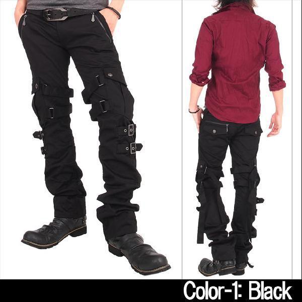カーゴパンツ メンズ スリムカーゴ ワークパンツ スキニー パンツ ボトムス カーゴ メンズファッション 通販|topism|06