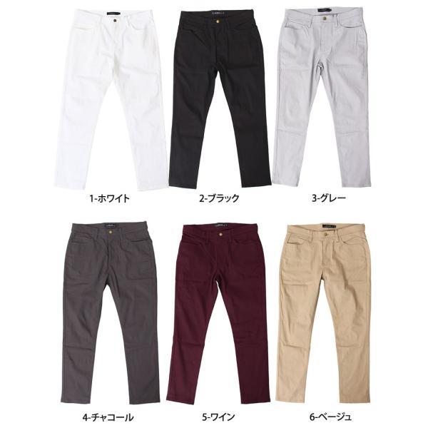 アンクルパンツ メンズ クロップドパンツ スキニーパンツ チノパン ボトムス スリム ストレッチ アンクル丈 伸縮 クライミングパンツ メンズファッション|topism|16