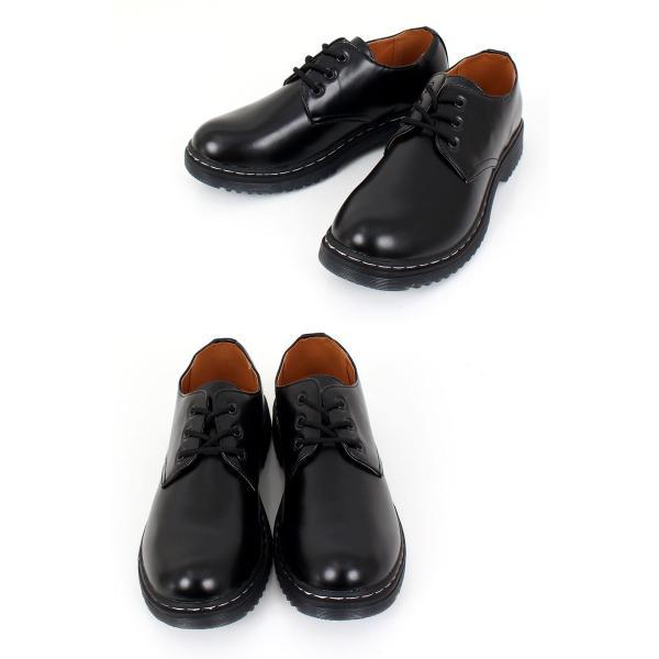 メンズカジュアルシューズ クリアソール 3ホール レースアップ 短靴 ローカット オックスフォード ドレスシューズ 靴 ローファー ブーツ|topism|05