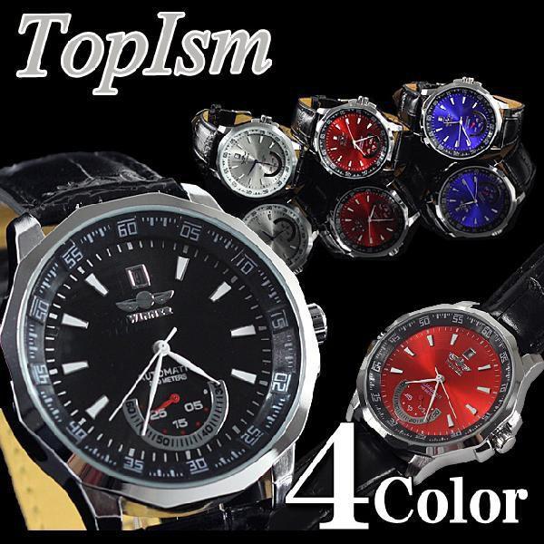腕時計 メンズ 自動巻き オートマチック ビッグフェイス スケルトン メンズウォッチ ウォッチ メンズファッション 通販|topism