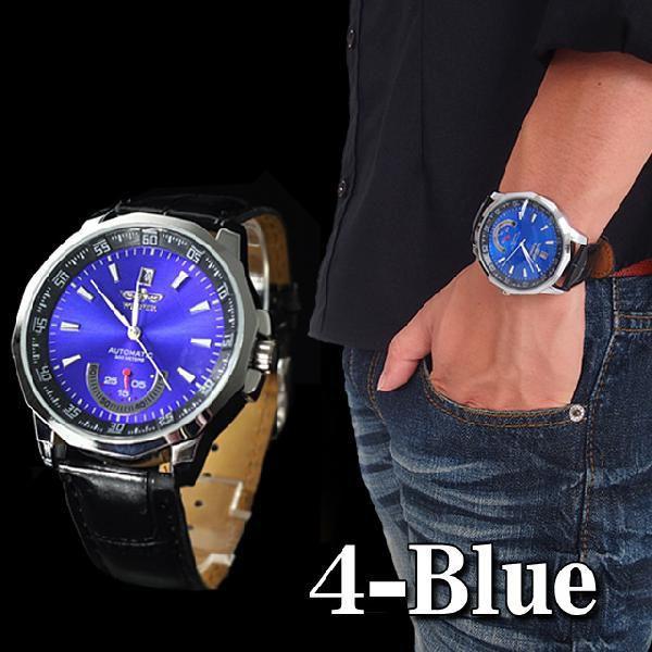 腕時計 メンズ 自動巻き オートマチック ビッグフェイス スケルトン メンズウォッチ ウォッチ メンズファッション 通販|topism|06