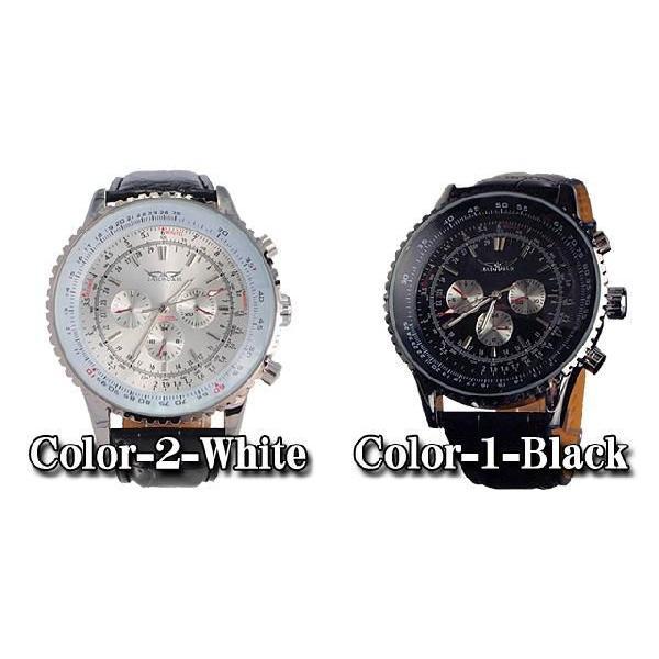 腕時計 メンズ クロノグラフ オートマチック 自動巻き腕時計|topism|03