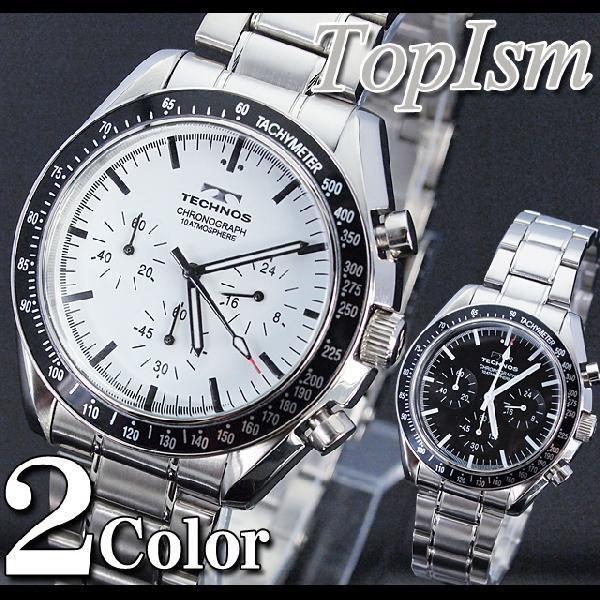 腕時計 メンズ クロノグラフ テクノス 新作 2012 メンズウォッチ ウォッチ メンズファッション 通販 topism