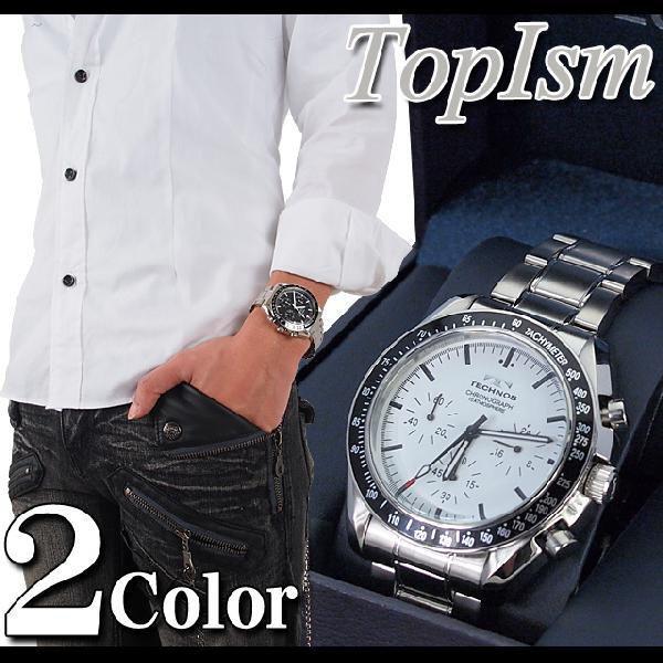 腕時計 メンズ クロノグラフ テクノス 新作 2012 メンズウォッチ ウォッチ メンズファッション 通販 topism 02