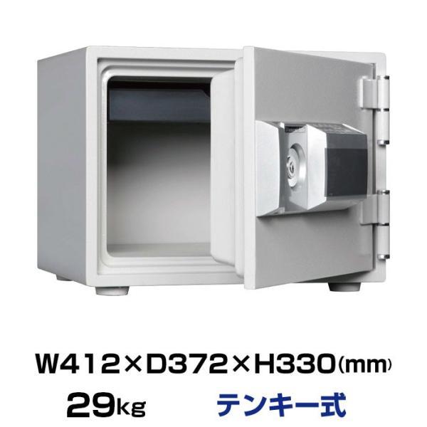 ダイヤセーフ 耐火金庫 MEK30-1 テンキー式 29kg