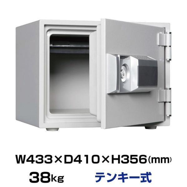 予約受付(6月中旬入荷予定) ダイヤセーフ 耐火金庫 MEK34-1 テンキー式 38kg