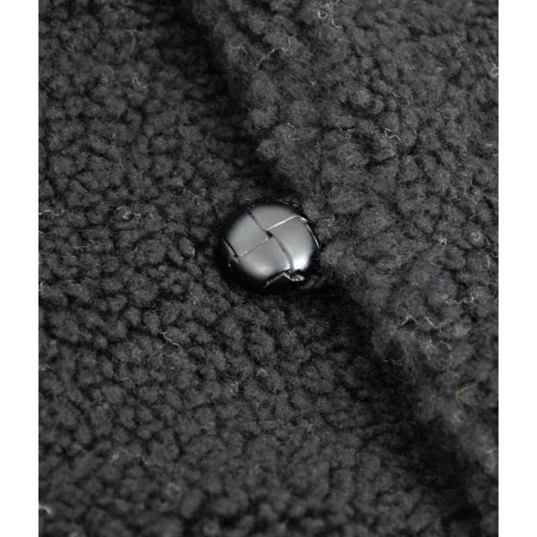 セール レディース ジャケット ジムフレックス (GYMPHLEX) くるみボタン フードボア パーカー コート アウター J-1185PL|topjimmy|06