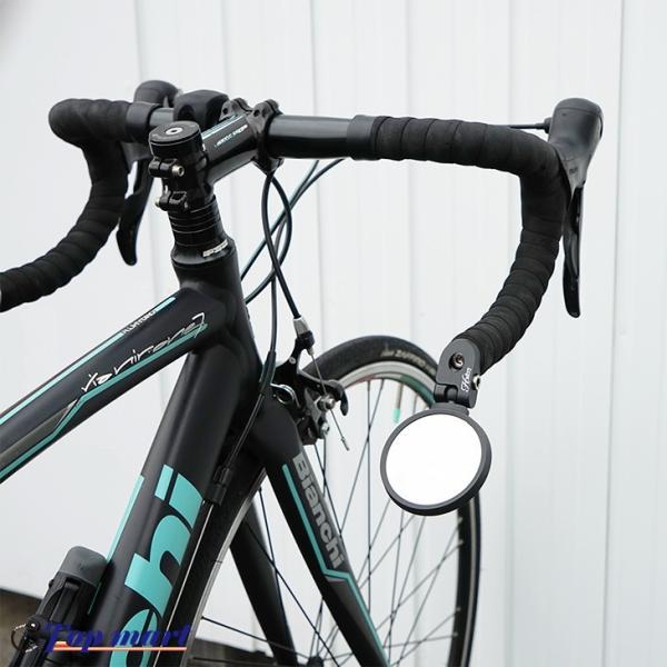 Hafny ハフニー 自転車 リヤビューミラー ミラーラウンドタイプ シルバーミラー|topmart-s|06