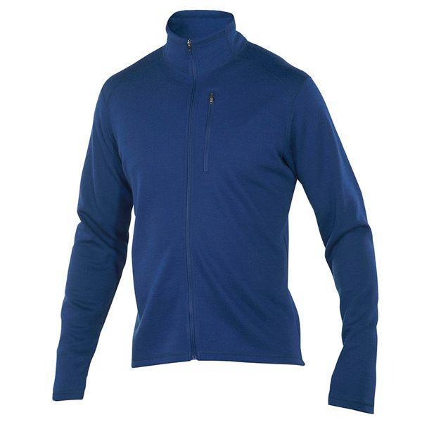 アイベックス Ibex ジャケット Msシャックフルジップ グロスビークブルー Mサイズ(日本lサイズ
