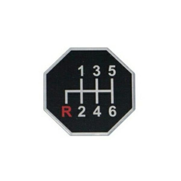 JET シフトパターンステッカー(No7) 1枚 [503707] ●主な車種目安 [日野4tレンジャープロ]