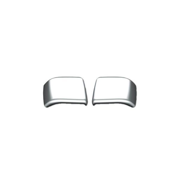 JET ドアハンドルボタンカバー L/R 日野大型 NEWプロフィア(H15.11〜H29.4) /4t レンジャープロ(H14.1〜H29.4) 用 [572206] ●取付:両面、材質:樹脂メッキ