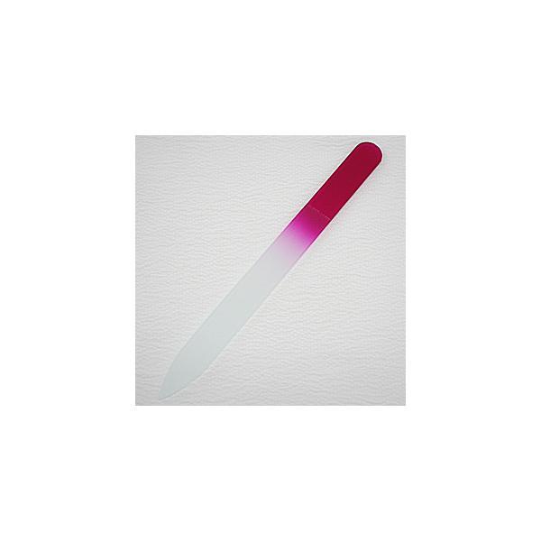 ガラスの爪やすり  カラーファイル  (マゼンタ)|topstarjapan