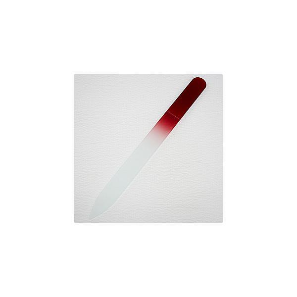 ガラスの爪やすり  カラーファイル (ルビーブラウン)|topstarjapan
