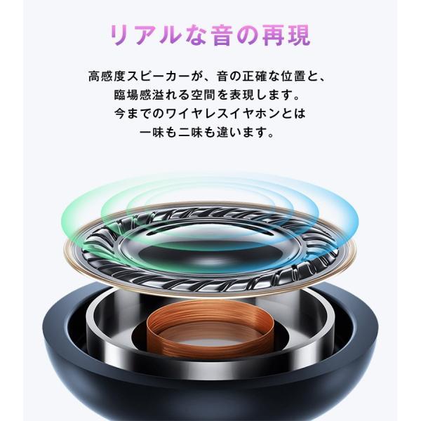 イヤホン ワイヤレスイヤホン ワイヤレス bluetooth カナル型 重低音 イヤホンマイク iPhone8 plus iPhone X 10 7 両耳 スマホ ブルートゥース 防水 「meru1」|toptrend|04