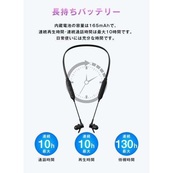 bluetooth イヤホン カナル型 イヤホン イヤホンマイク iPhone8 plus iPhone X iPhone10 iPhone7 スマホ ブルートゥース 高音質 おすすめ ワイヤレス 「meru1」|toptrend|08