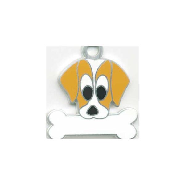 ビーグル 【名入れ】 犬 迷子札 犬鑑札 IDプレート メール便 ドッグタグ アクセサリー トップワン 携帯ストラップ|topwan