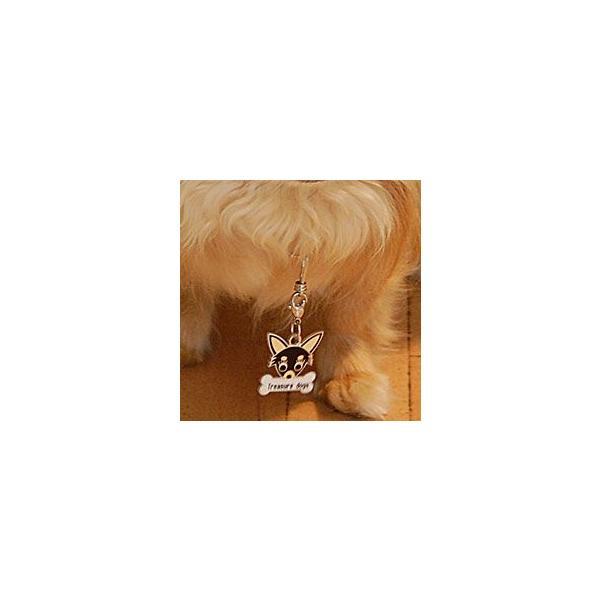 ワイヤーフォックステリア  犬 迷子札  ドッグタグ 【名入れ】 トップワン  犬鑑札 IDプレート メール便 アクセサリー  携帯ストラップ|topwan|04
