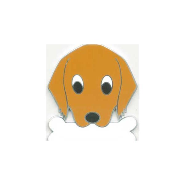 ゴールデンレトリーバー   犬 迷子札  ドッグタグ 【名入れ】 トップワン ペット 犬鑑札 IDプレート メール便 アクセサリー  携帯ストラップ|topwan