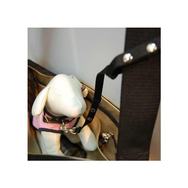 飛出し防止リード 単品 中付け  外付け  飛び出し防止フック ドッグスリング   犬(ペット) キャリーバッグ 【ペット用品 通販 トップワン】|topwan|02