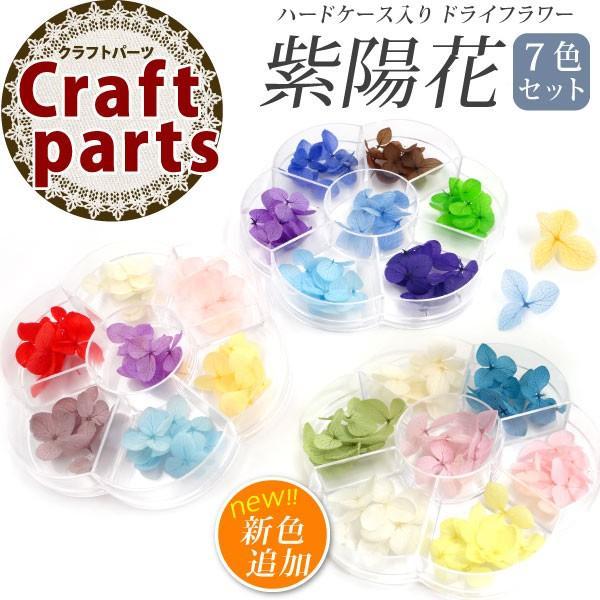 ドライフラワー 紫陽花 7色セット(A-C) tora-shop