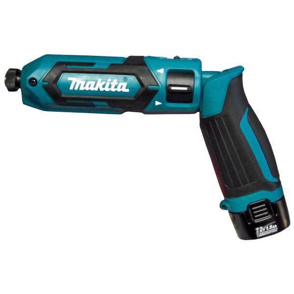 マキタ7.2V充電式ペンインパクトドライバTD022DSHX(バッテリー2本付)