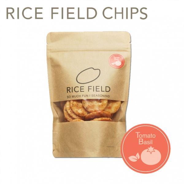 RICE FIELD CHIPS ライスフィールドチップス トマトバジル 1袋 京寿楽庵|toraya-sweets