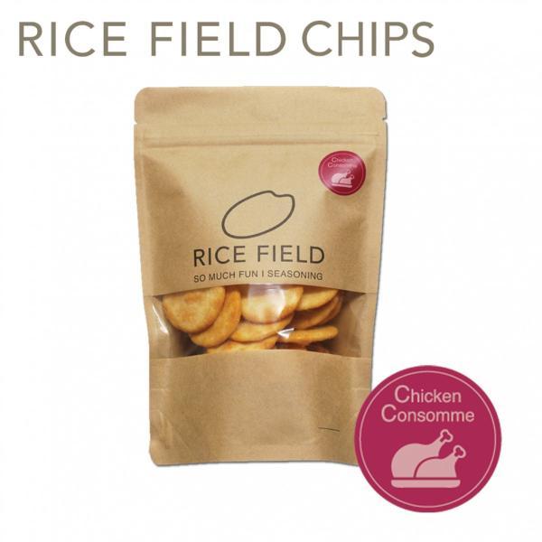 RICE FIELD CHIPS ライスフィールドチップス チキンコンソメ 1袋 京寿楽庵|toraya-sweets