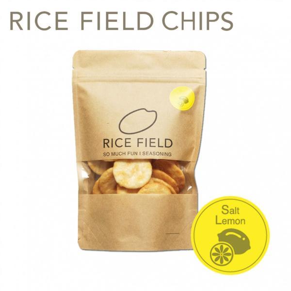 RICE FIELD CHIPS ライスフィールドチップス レモン塩 1袋 京寿楽庵|toraya-sweets