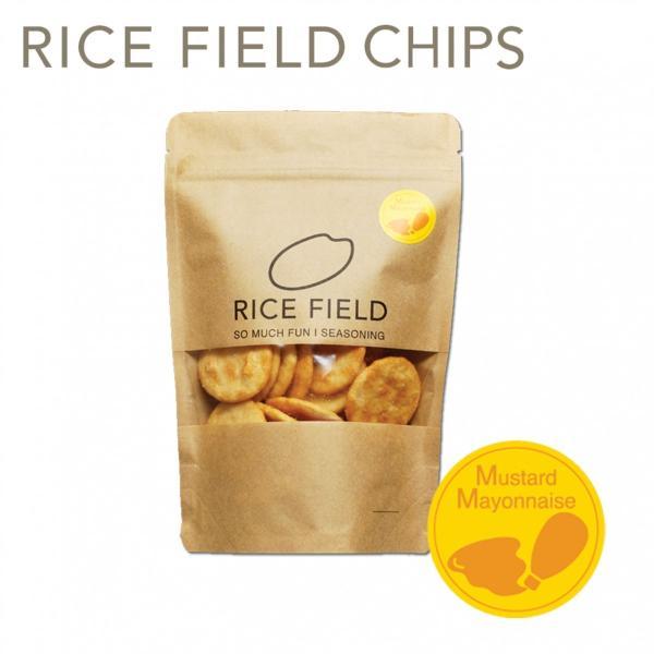 RICE FIELD CHIPS ライスフィールドチップス からしマヨネーズ 1袋 京寿楽庵|toraya-sweets