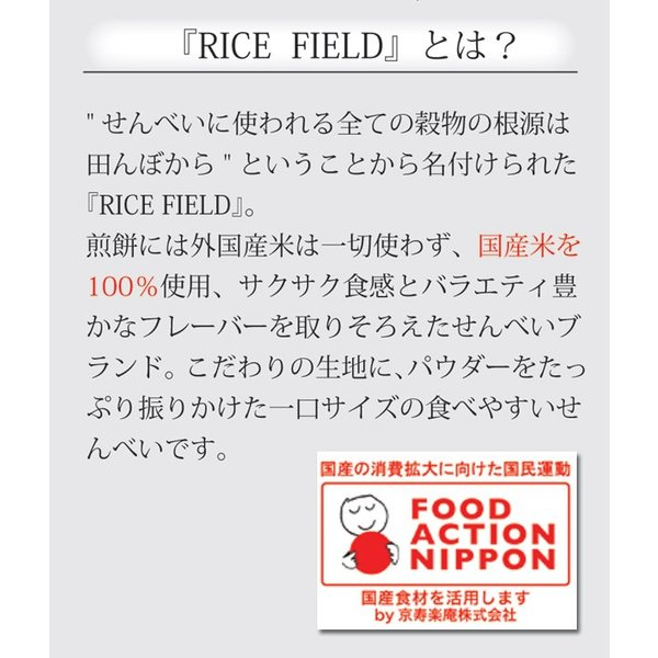 RICE FIELD CHIPS ライスフィールドチップス からしマヨネーズ 1袋 京寿楽庵|toraya-sweets|03