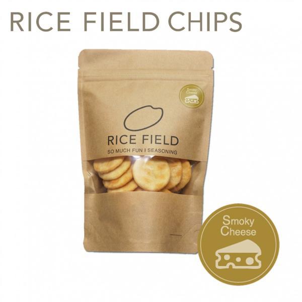 RICE FIELD CHIPS ライスフィールドチップス スモークチーズ 1袋 京寿楽庵|toraya-sweets